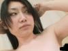 【うんこたれ/前川あかり】白濁汁垂らしながら裸でウンチする若い女の子♪