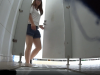 【排便盗撮】この中国娘、あまりに素晴らしい美尻だったので紹介してしまった・・・